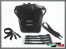 Strada 7 Racing Universal 20L Motorcycle Waterproof Pannier Bag - Triumph