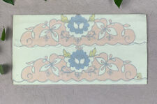 VTG Madeira Set Of 2 Pillow Cases Embroidered Unused Pink/Blue/