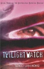 Twilight Watch Sergei Lukyanenko PAPERBACK Russian Novel Translated to English