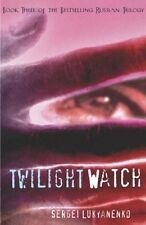 Twilight Watch Sergei Lukyanenko PAPERBACK Russian Novel Translated to English