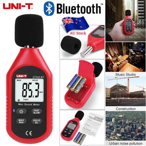 UNI-T Mini LCD Digital Sound Level Meter Noise Decibel Tester Measure Bluetooth