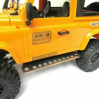 2PCS DIY Metal Foot Pedal Plate Board Guard For 1/12 MN D90 D91 RC Truck Car BAU