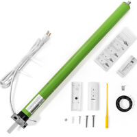 Patio AC Tubular Motor for Retractable Awning Built in Receiver Remote Control