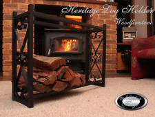 FIREWOOD RACK FIREPLACE ACCESSORIES Log Rack Storage WOOD HOLDER Woodfirestove