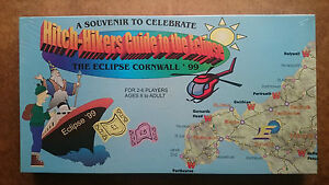 Hitch Hikers Guide to the Eclipse Cornwall by Fiieilder 1999 - (New and Sealed)