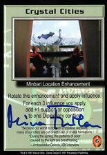 Babylon 5 Ccg Mira Furlan Premier Edition Crystal Cities Autographed