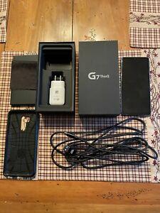LG G7 ThinQ LMG710TM - 64GB - Platinum Gray (Sprint ) preowned