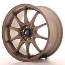 Japan Racing JR5 Alloy Wheel 17x8.5 - 4x100 / 4x114.3 - ET35 - Bronze