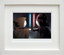 Doug Hyde Good vs Bad Framed Limited Edition Giclee
