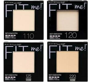 Maybelline Fit Me Set + Smooth Powder- 7 Colors to choose from-Volume Discounts