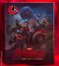 The Avengers 3D+2D Blu-ray Lenticular Steelbook Novamedia # 92 Limited Edition