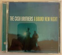 The Cash Brothers - A Brand New Night CD 2003 Zoë Records VG