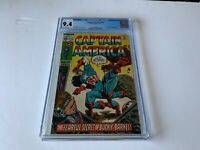 CAPTAIN AMERICA 132 CGC 9.4 WHITE PAGES BUCKY BARNES MARVEL COMICS 1970