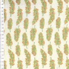 """(€ 18,00/m) patchwork de tela - """"Refresh"""" plumas - 25 x 110cm"""
