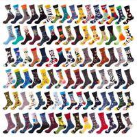 40 Styles Mens Cotton Socks Animal Fruit Novelty Funny Casual Sock SOX Wedding