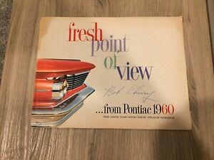 1960  PONTIAC  ALL MODELS  BROCHURE