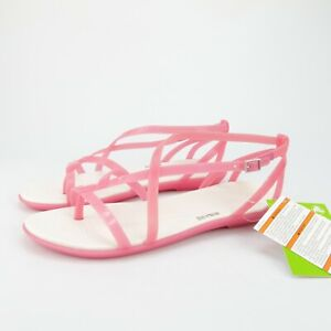 Crocs Isabella Gladiator Womens Pink Strappy Sandals Size 11
