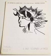 Partition sheet music CLAUDE NOUGARO : Il Faut Tourner la Page * 80's
