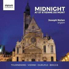 Joseph Nolan - Midnight At St.etienne Du Mont NEW CD
