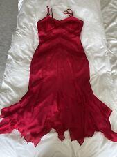 Karen Millen Talla 12 Vestido Rosa
