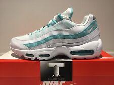 "Nike Air Max 95 ""Light Aqua"" ~ 307960 115 ~ Uk Size 5.5 ~ Euro 39"