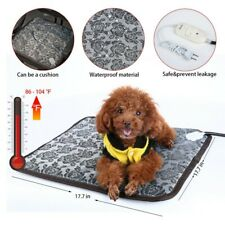 Pet Cat Dog Waterproof Electric Heating Pad Heater Puppy Warmer Mat Bed Blanket