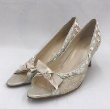 Washington Ginza High Heel Pumps Women's Size 26 EUC Ribbon From Japan