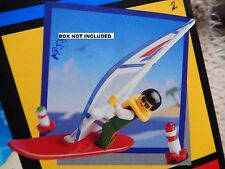 Classic Lego 1958 Wind Surfer - New sealed Package c 1993 - Vintage city surfer
