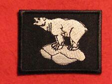 BRITISH ARMY 49TH EAST INFANTRY BRIGADE FORMATION BADGE WHITE POLAR BEAR