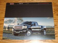 Original 2015 GMC Truck Sierra HD Sales Brochure 15