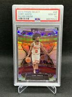 2019 Panini Select Silver Prizm Coby White PSA 10 Pop 5 HOT