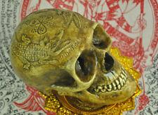 Ritual Skull Head crocodile Tattoo Thai Amulet Talisman Magical Voodoo occult