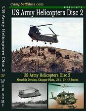 Army-Helicopter Film 1 Air Cav UH-1 Huey Ch-47 Vietnam
