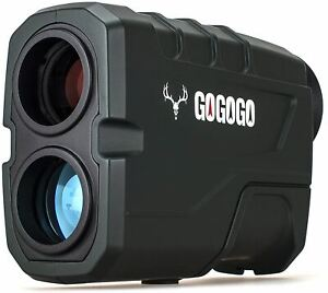 Gogogo Sport 1200 Yards Laser Range Finder, Hunting with Flagpole Lock - Ranging