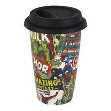 Officially Licensed Marvel Retro Covers Ceramic Travel Mug