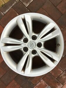 "HYUNDAI ix35 17"" SPARE ALLOY WHEEL RIM 52910-2Y200 6.5JX19 GENUINE OEM PART #3"