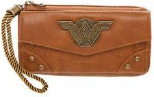 Licensed DC Comics Wonder Woman Movie Top Zip Wallet Licensed NEW!