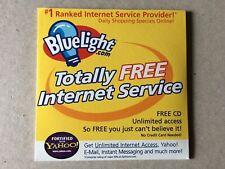 FREE Internet Service... BLUELIGHT.Com Disc from 1999.  Original Yahoo ??