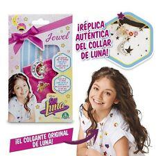 Collar Soy Luna el  Colgante de la Famosa Serie de Televisión Auténtico Original