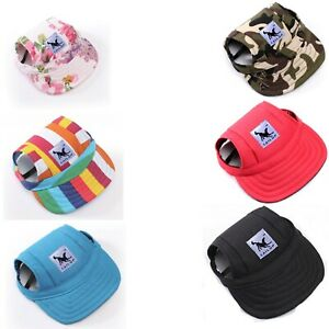 Dog Baseball Cap Hat for Pet Dogs Outdoor Accessories Christmas Gift