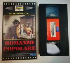 VHS ROMANZO POPOLARE di Mario Monicelli [NUMBER ONE VIDEO]