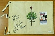 Lee Trevino Signed Original Course Pin Flag with JSA COA