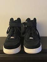 Nike Air Force 1 High '07 BLACK/WHITE Suede #315121-033 Men's Size US 11.5 🔥🔥
