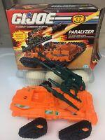 Gi Joe ARAH Cobra Paralyzer 100% Complete With Box Good Condition