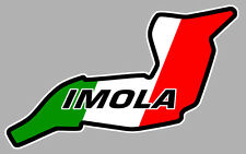 IMOLA CIRCUIT RACING TRACK AUTOCOLLANT STICKER 120x75mm IA075