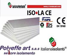 10 PANNELLI  POLISTIROLO ISOLAMENTO TERMICO CAPPOTTO 15  KG MC 100 x 50 x 5 CM
