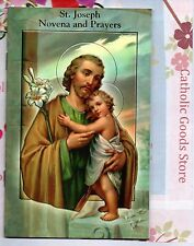 Saint St. Joseph Novena & Prayers Booklet