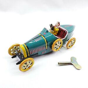 Vintage Schylling Bugatti T-35 Tin Racer-New In Box-Mint