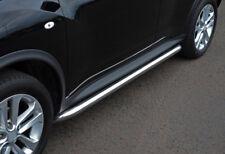 Chrome Side Bars Steps S.Steel To Fit Nissan Juke (2010+)
