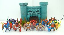 He-Man minis figures set, Masters of the Universe, Castle Grayskull, Lot, pieces